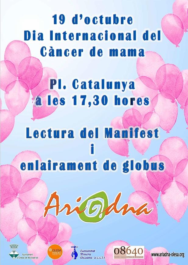 Dia Internacional del Càncer de mama